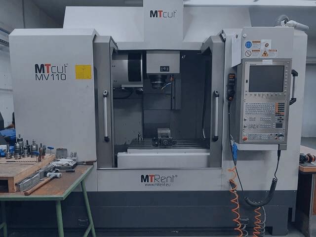 Ausstattung CNC Fräsmaschinen MTcutMV110