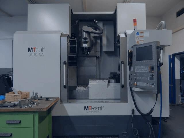 Ausstattung CNC Fräsmaschinen MTcutUE110-5A