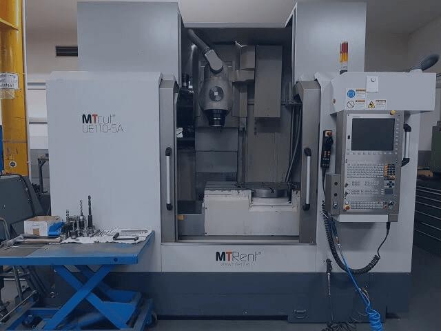 Ausstattung CNC Fräsmaschinen MTcutUE110 5A