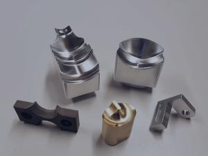 Bildliche Darstellung CNC-gefertigter Kleinteile