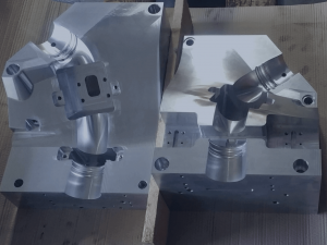 CNC-gefräste Blasform - fertiges Produkt