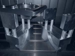 Darstellung eines bearbeiteten CNC-Produkts von Perform3D